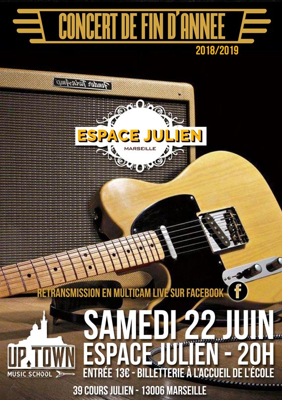 Affiche Up Town